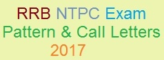 RRB Secunderabad NTPC Call Letters 2017 Exam Pattern of CEN. 03/2015