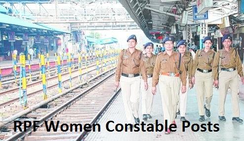 RPF Women Constable Posts