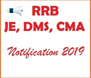 RRB JE Notification 2019