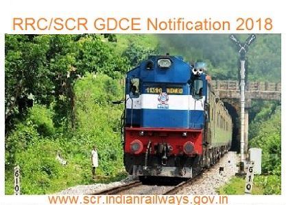 RRC SCR GDCE Notification 2018 Application for Jr. Engineer ALP Goods Guard CC Technician etc Posts