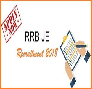 RRB JE Online Application