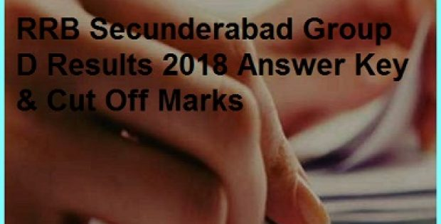 RRB Secunderabad Group D Results 2018 Answer Key
